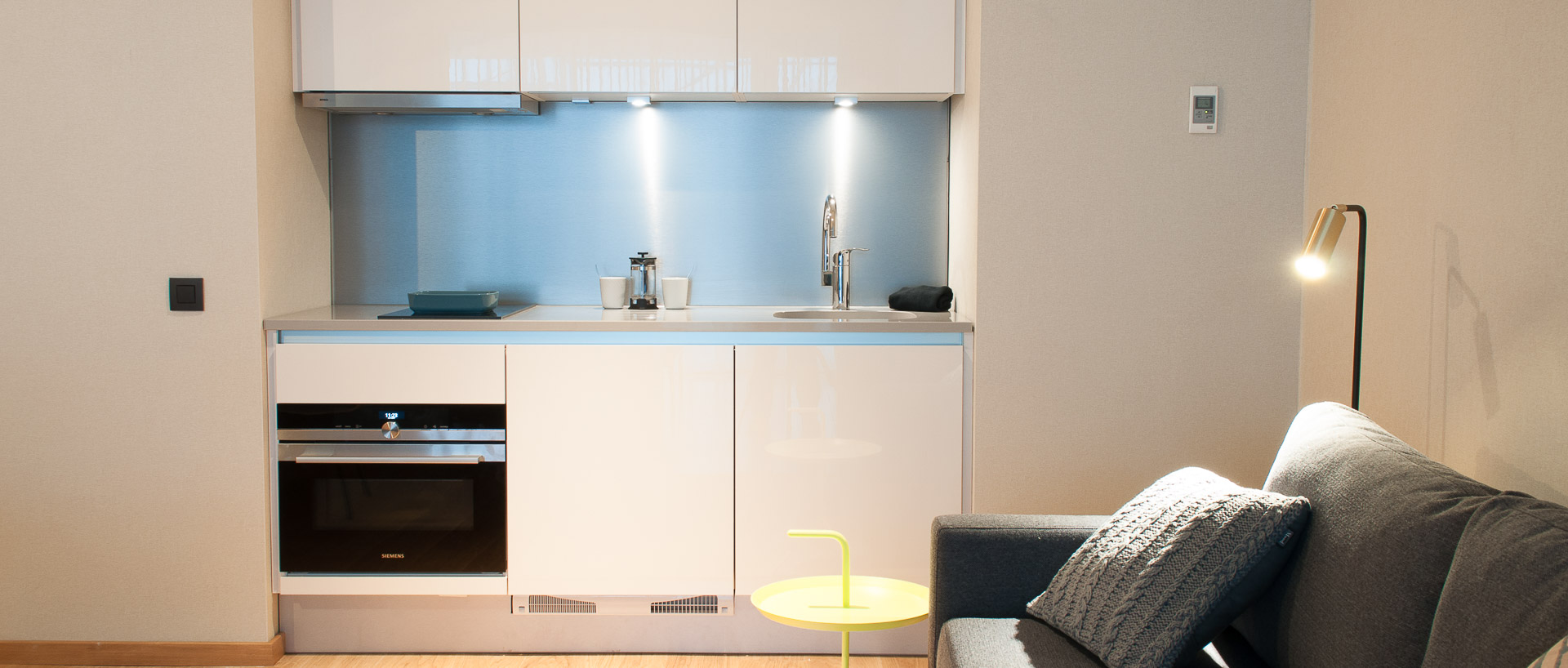 Kitchenette in PREMIER SUITES PLUS Antwerp
