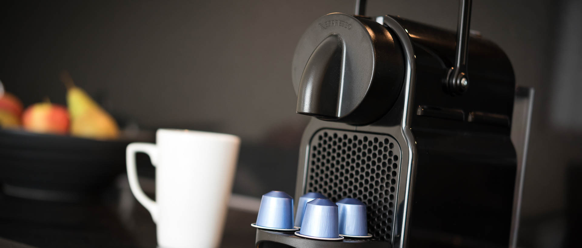 Nespresso Coffee Machine inPREMIER SUITES PLUS Antwerp
